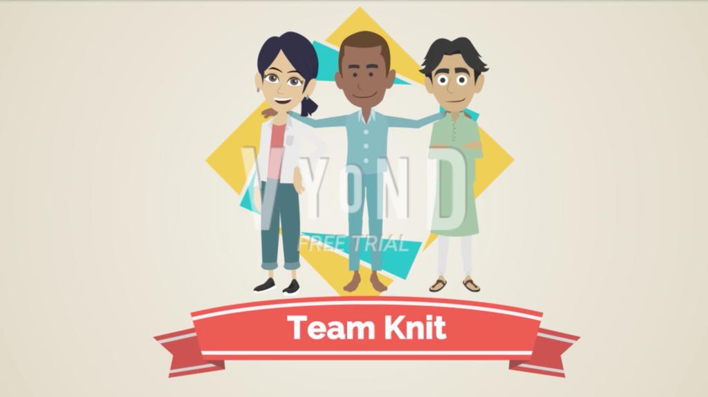 Team Knit - Haydee Calderon presentation